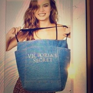 Victoria's Secret Denim bag New With Tags